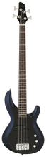Load image into Gallery viewer, ARIA PRO II ELECTRIC BASS GUITAR METALLIC BLACK