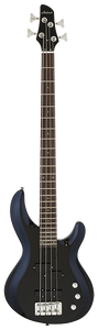 ARIA PRO II ELECTRIC BASS GUITAR METALLIC BLACK