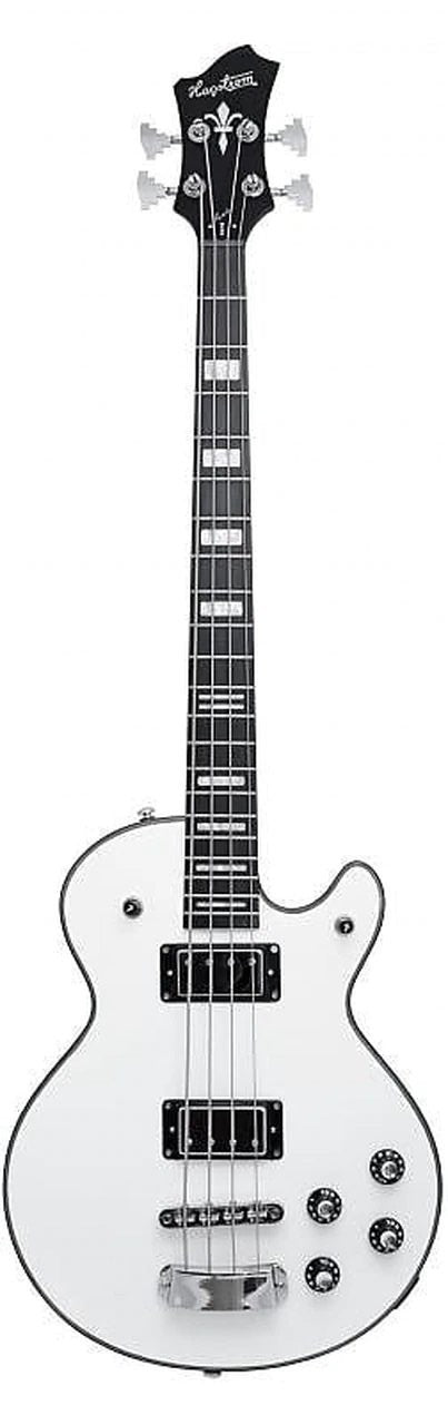 Hagstrom Swede Bass Electric Bass Guitar White Gloss