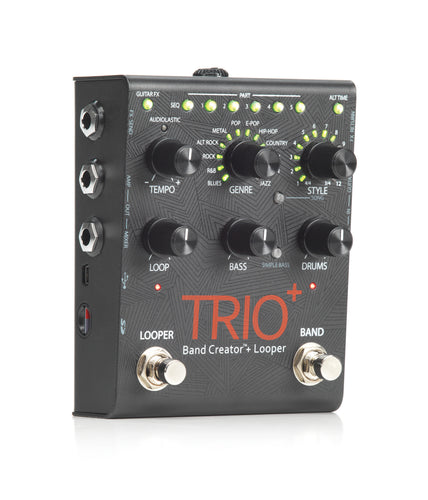 Pedal - Digitech TRIOPLUS Trio+ Band Creator and Looper Pedal