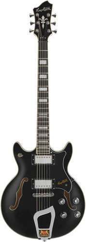 Hagstrom Alvar Compact Elf Warrior Gloss Black Black Pickguard