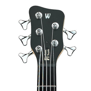 Warwick - RAL Robert Trujillo 5 Electric Bass Guitar Black Satin