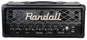 Amp Head Guitar - Randall 20 w 2 ch head with footswitch
