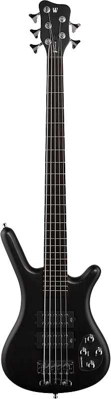Warwick - RB Corvette 5 Nirv Blk Lefty Electric Bass Guitar with bag