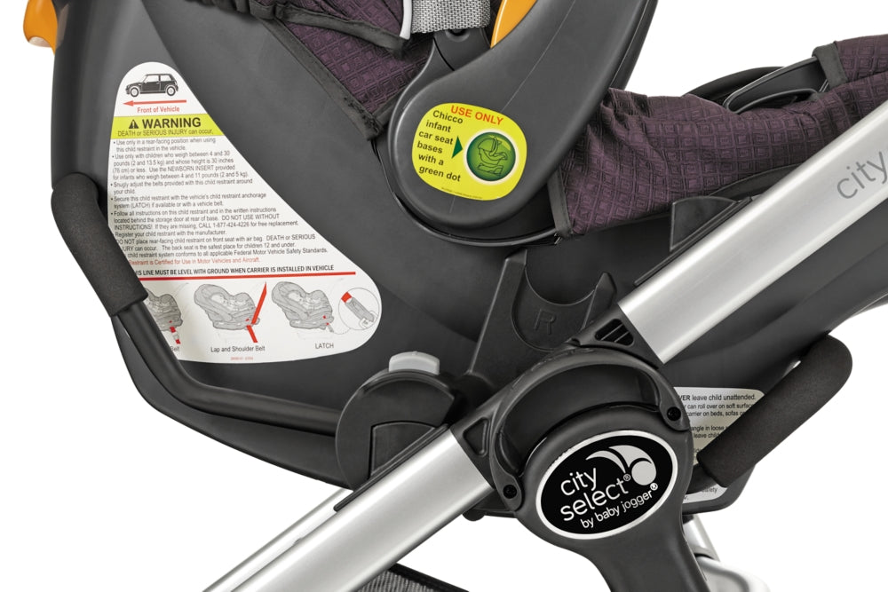 Baby Jogger Car Seat Adapter for Chicco® / Peg Perego/ Cybex/ Maxi-Cosi