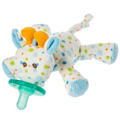 WubbaNub Little Stretch Giraffe Infant Pacifier