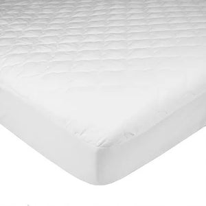 Brixy Fitted Crib and Toddler Waterproof Quilted Mattress Pad