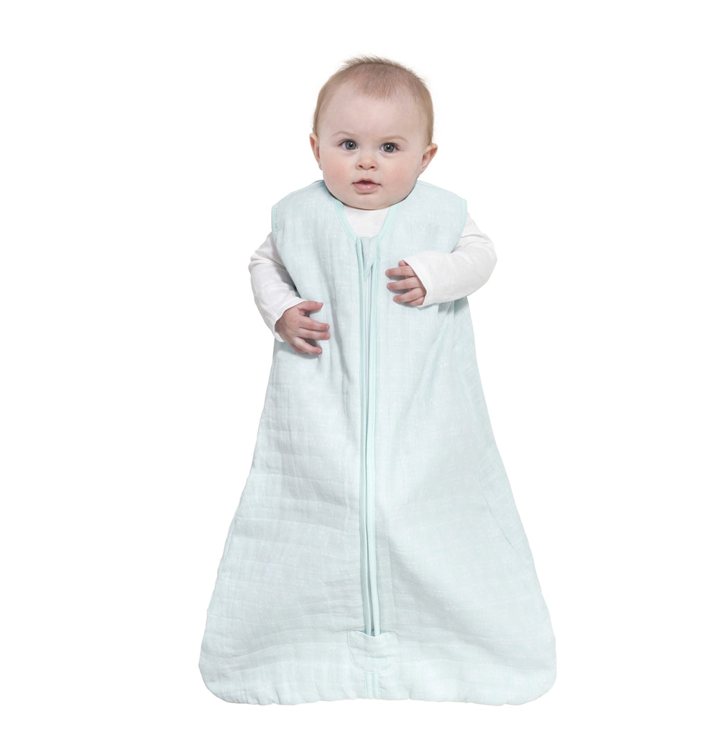 HALO SleepSack Wearable Blanket Platinum Quilted Muslin-Pyramid