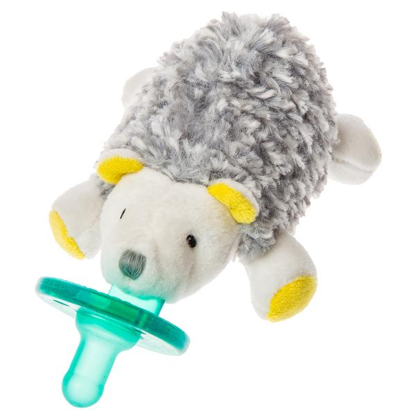 WubbaNub Sunshine Hedgehog Infant Pacifier