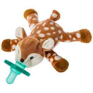 WubbaNub Amber Fawn Infant Pacifier