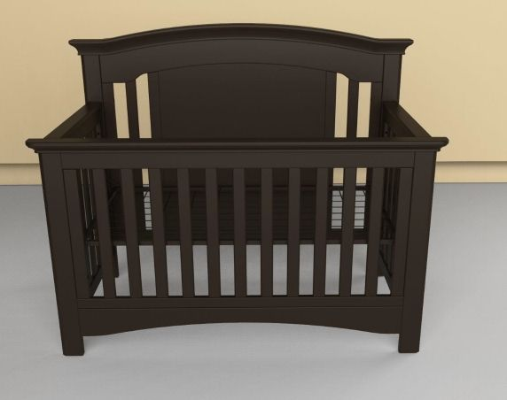 Baby's Dream Madison Crib- Slate