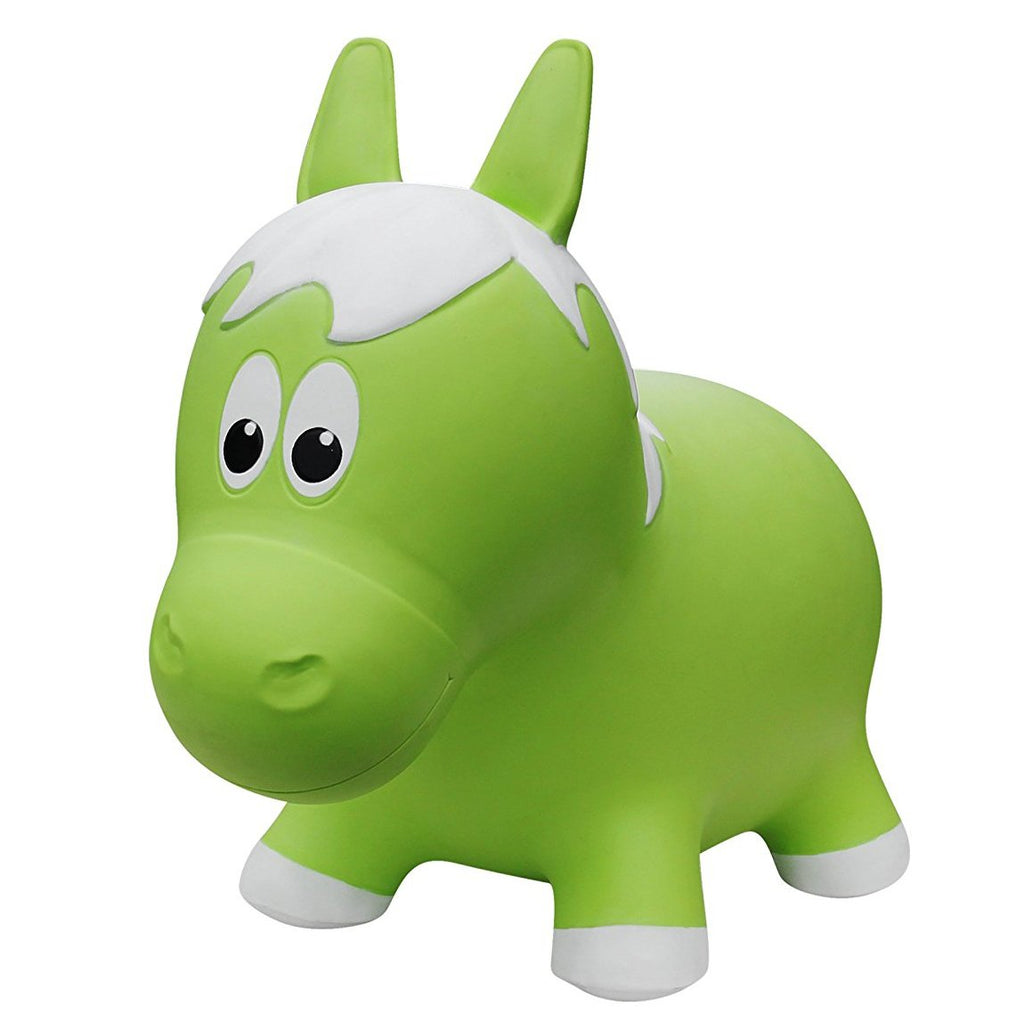 Farm Hopper Green Horse