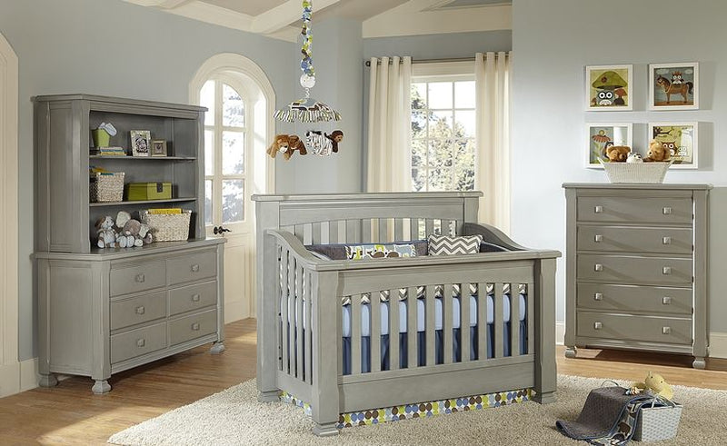 Baby's Dream Spice Crib- Vintage Grey