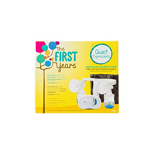 The First Years Quiet Expressions Breast Pump Plus