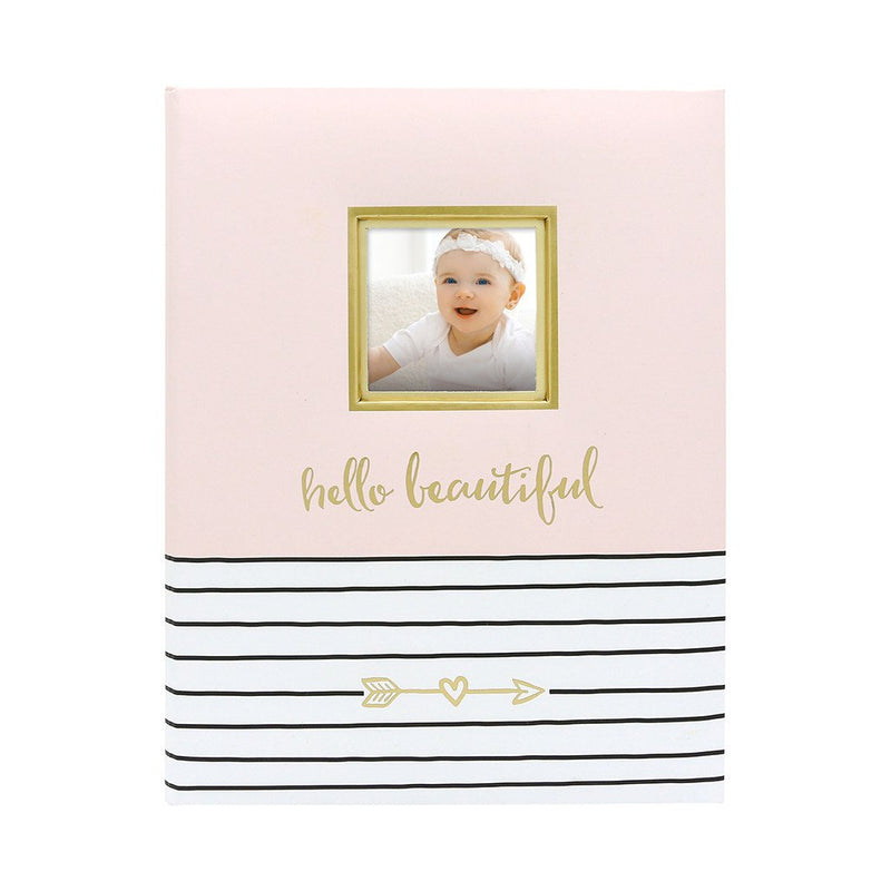 Pearhead Baby Book - Hello Beautiful