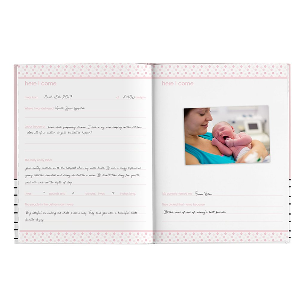 Pearhead Baby Book - Hello Baby