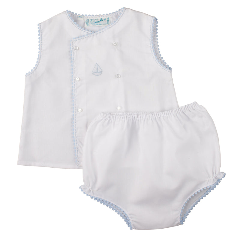 Feltman Brothers Sailboat Diaper Set