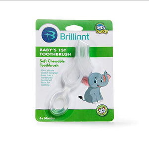 Baby Buddy Baby's 1st Toothbrush - Clear