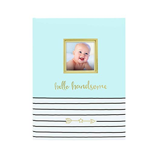 Pearhead Baby Book - Hello Handsome