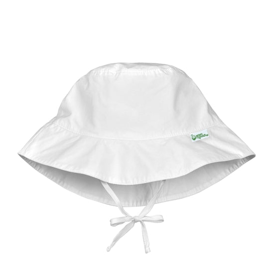 Bucket Sun Hat - White