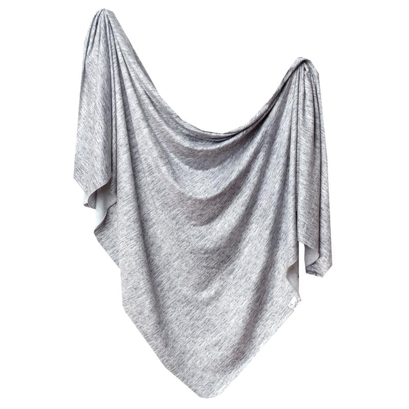 Copper Pearl Knit Swaddle Blanket - Asher