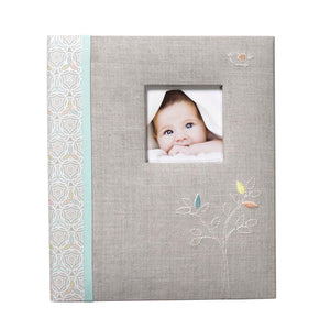 C.R. Gibson Baby Memory Book - Linen Tree