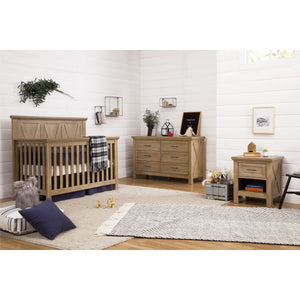 Franklin & Ben Emory Farmhouse 4-in-1 Convertible Crib