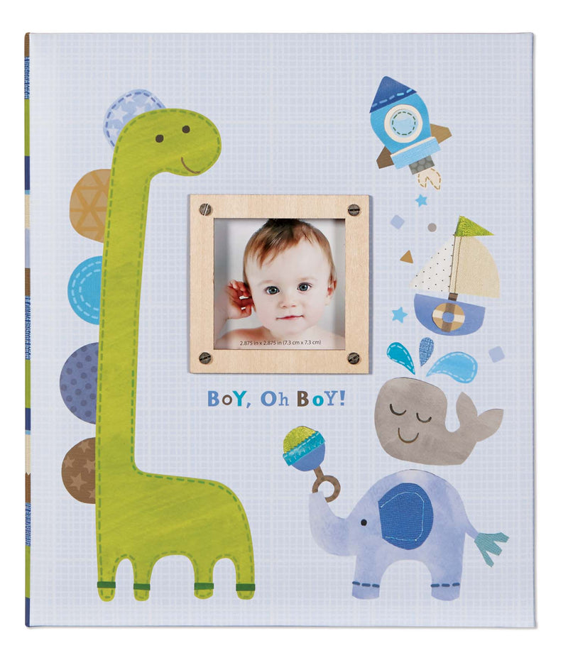 C.R Gibson Baby Memory Book - Boy, Oh Boy