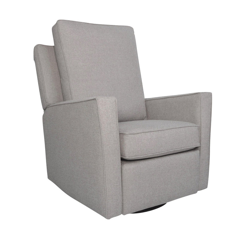 The First Chair Brisa Swivel Glider Recliner - Suiting Grey