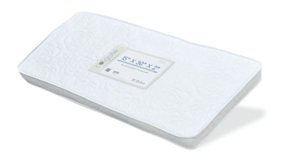 "Colgate Bassinet Mattress - 15"" x 30"" x 2"""