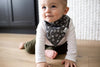 Copper Pearl Bandana Bib Set - Quarterback