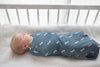 Copper Pearl Knit Swaddle Blanket - North