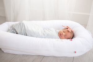 Copper Pearl Knit Swaddle Blanket - Summit