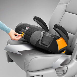 Chicco GoFit Plus Backless Booster Carseat - Iron