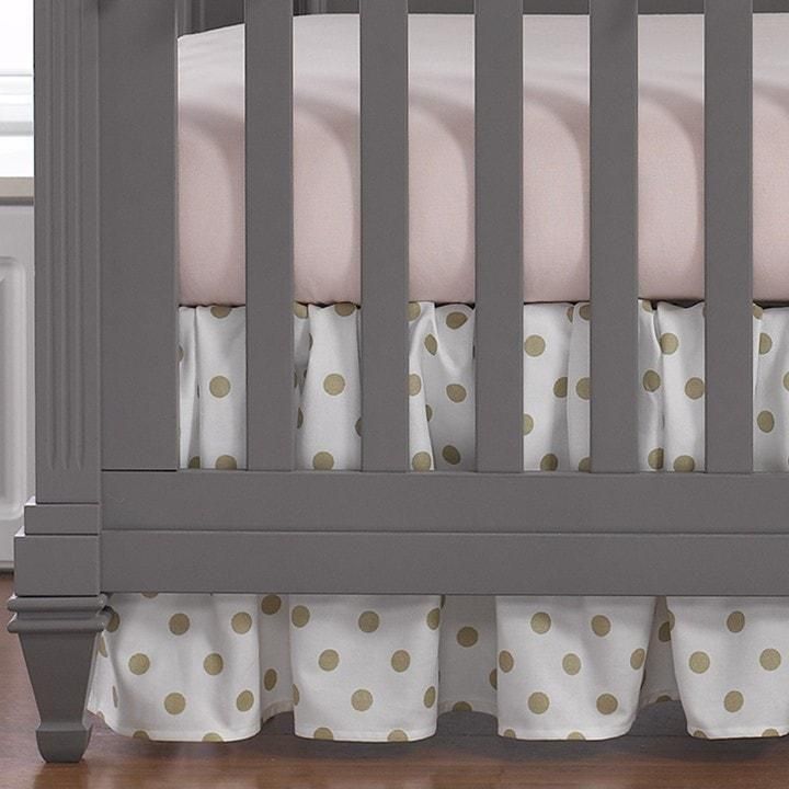 Sissy & Sawyer Petal Pink Linen Blend Crib Sheet