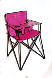 Ciao! Baby Portable High Chair - Pink