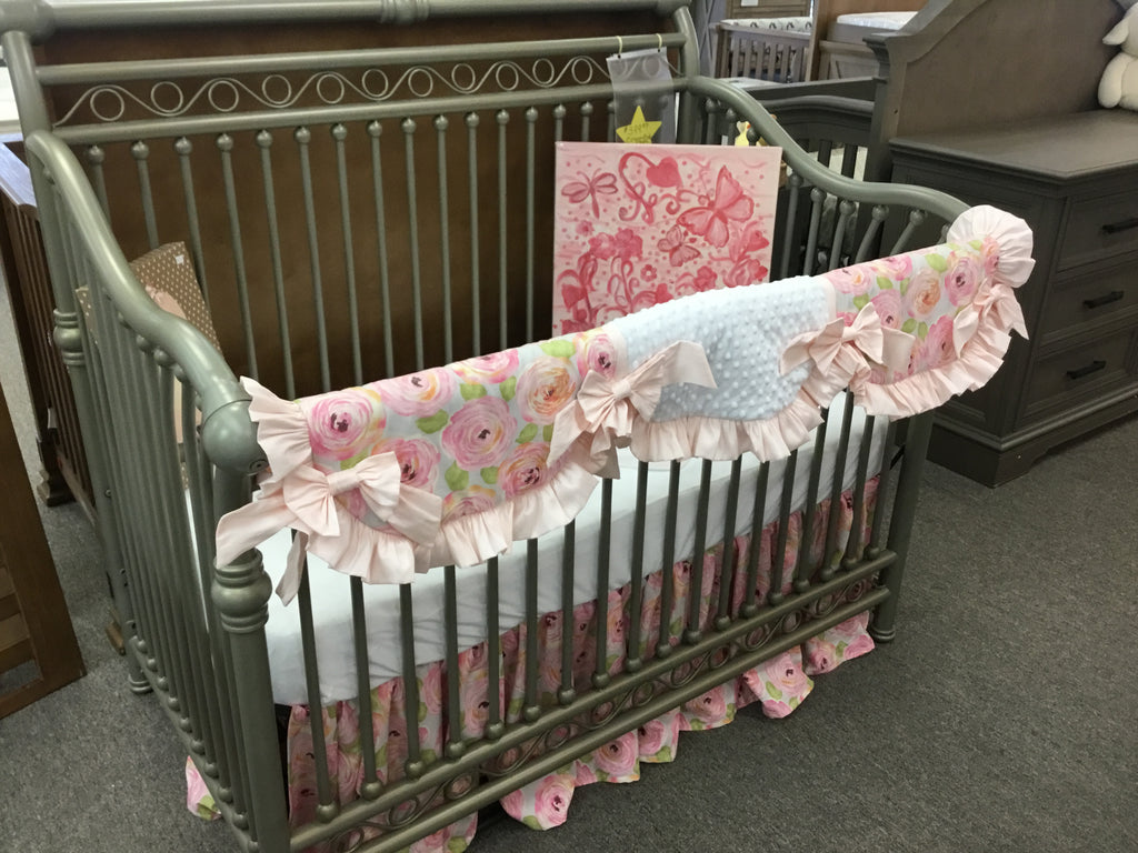 Our New Baby Custom Bedding - Patricia