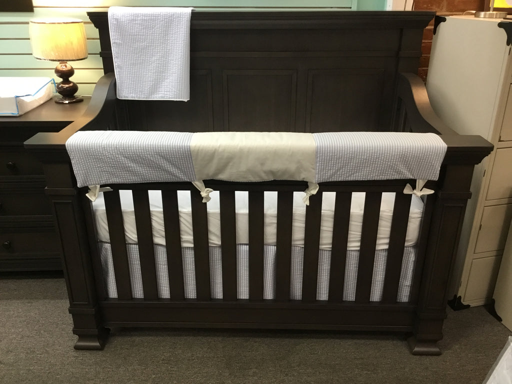 Our New Baby Custom Bedding - Sawyer