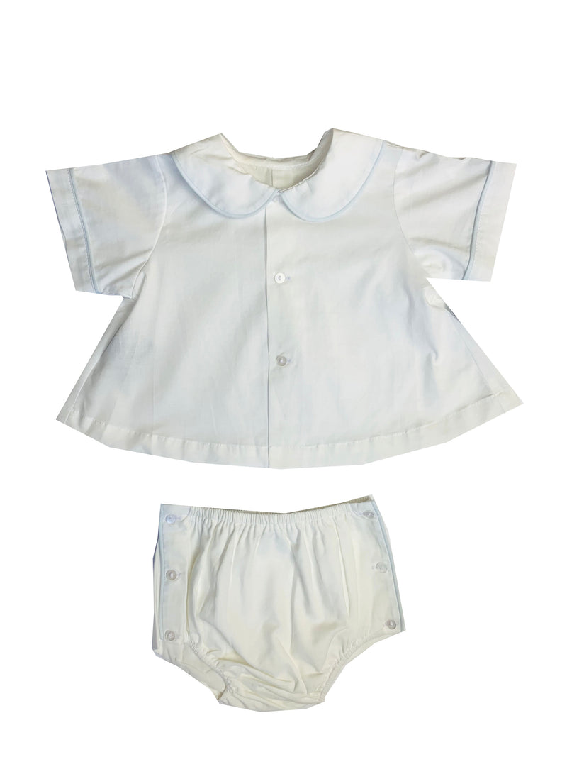 Lullaby Set Joseph Diaper Set - White