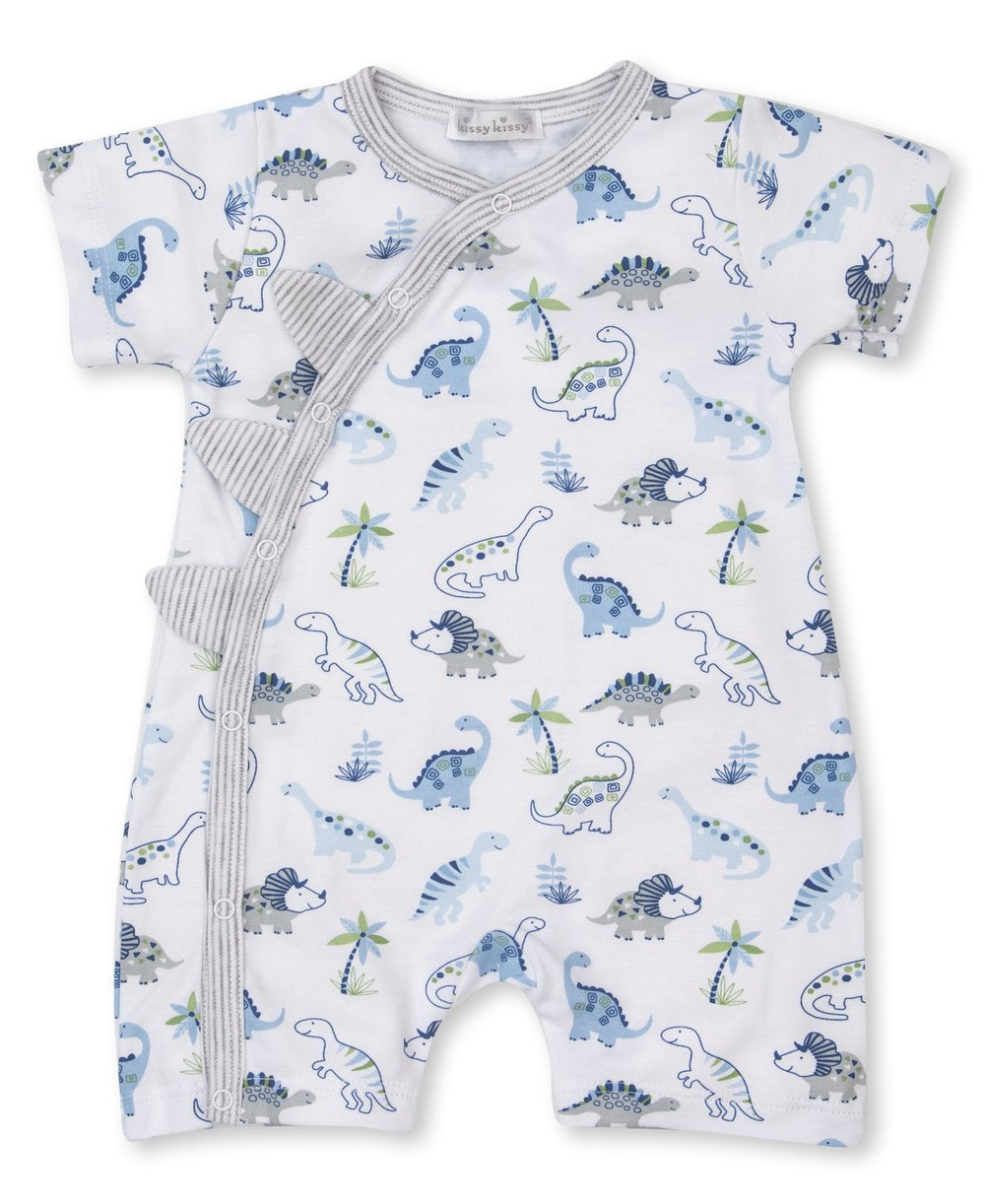 Kissy Kissy Happy-Saurus Short Playsuit