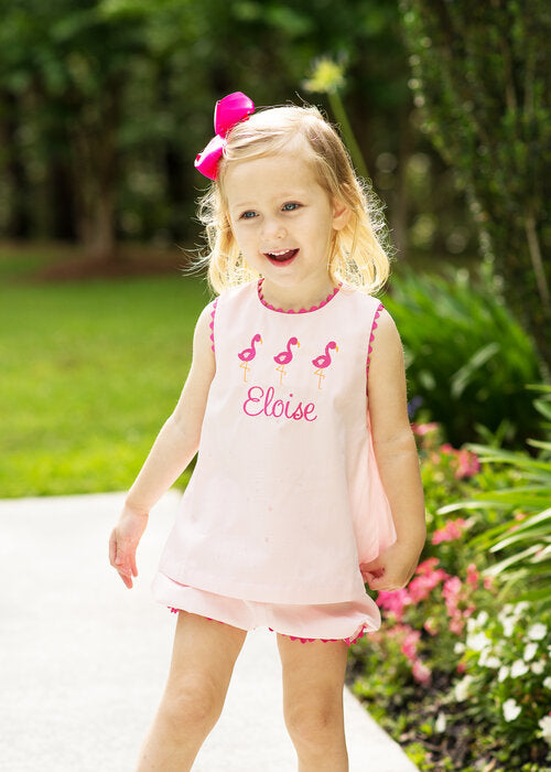 Lullaby Set Lucy Pink Pique