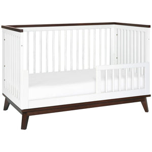 Babyletto Scoot 3-in-1 Convertible Crib with Toddler Bed Conversion Kit