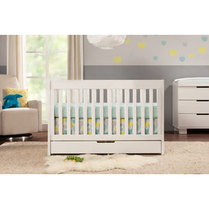 Babyletto Mercer 3-in-1 Convertible Crib with Toddler Bed Conversion Kit