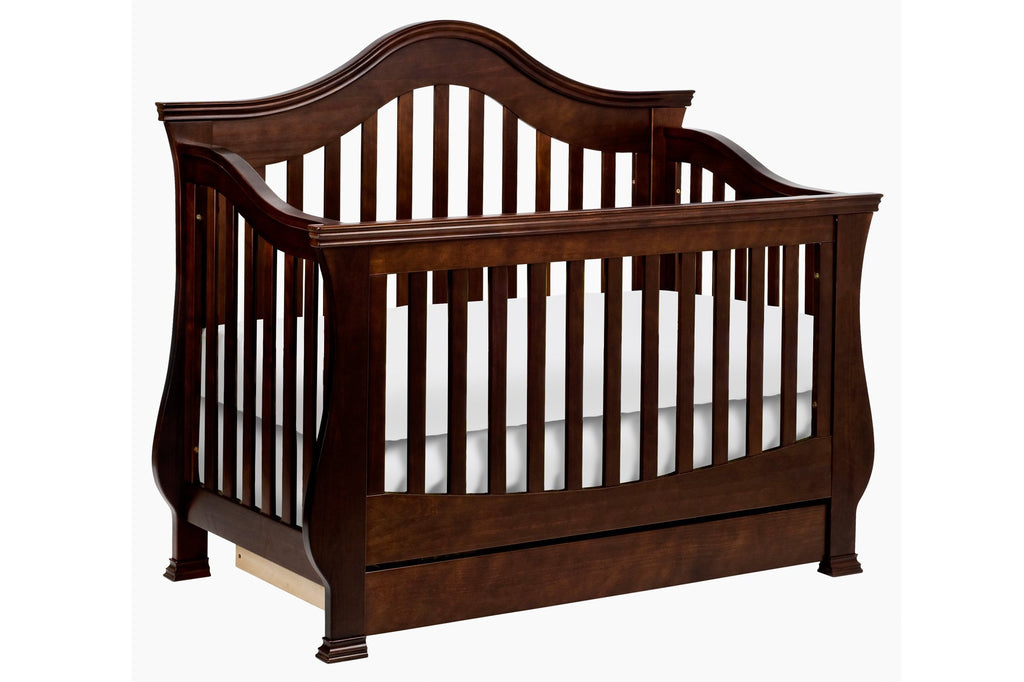 Million Dollar Baby Classic Ashbury 4-in-1 Convertible Crib with Toddler Bed Conversion Kit