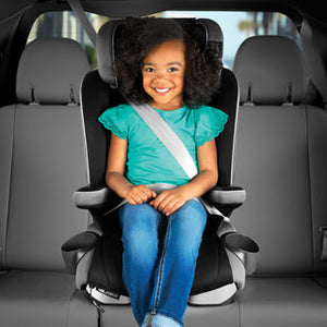 Chicco MyFit Zip Harness + Booster Car Seat - Granite