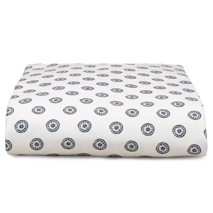 "Sissy & Sawyer Navy ""Luna"" Crib Sheet"