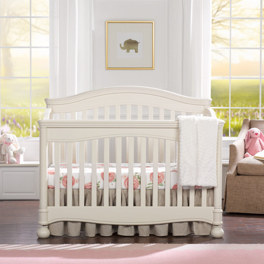 "Sissy & Sawyer ""Penelope"" Linen Crib Bedding 3-Pc. Set"