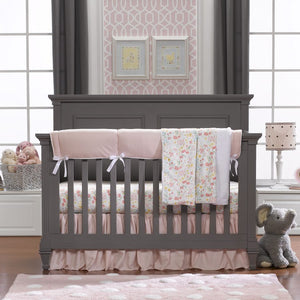 "Sissy & Sawyer ""Clara"" Linens Bumperless Crib Bedding 3-pc. Set"