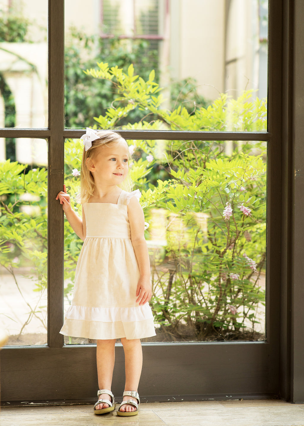 Lullaby Set Rachel Linen Dress