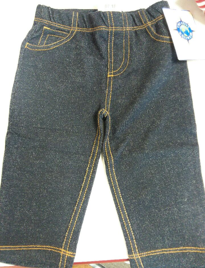 Creative Knitwear Denim Jeans